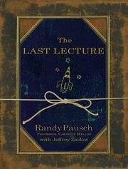 Cover of: Last Lecture