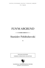 Cover of: Fun'm abgrund