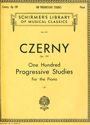 Cover of: One hundred progressive studies: without octaves : for the piano : op. 139