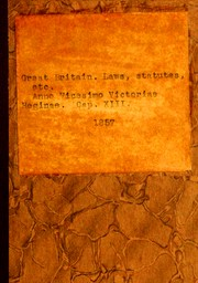 Cover of: Laws, etc. (Public general acts)