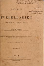 Cover of: Revision der Turbellarien