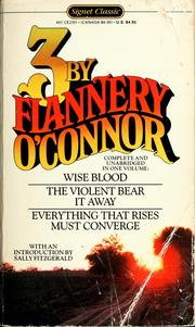 Cover of: Three by Flannery O'Connor