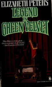 Cover of: Legend in Green Velvet