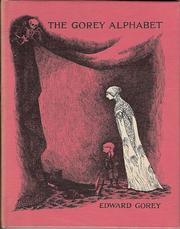 Cover of: The Gorey alphabet