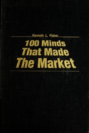 Cover of: 100 minds that made the market