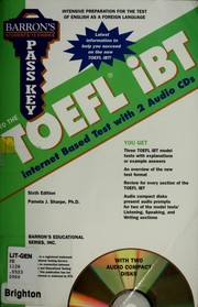 Cover of: Pass key to the TOEFL iBT