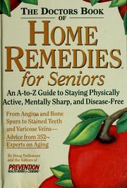 Cover of: The doctors book of home remedies for seniors