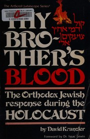 Cover of: Thy brother's blood
