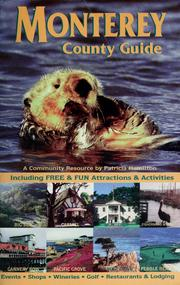 Cover of: Monterey County guide
