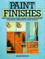 Cover of: Paint finishes