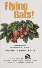 Cover of: Flying Bats