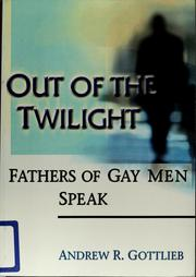 Cover of: Out of the twilight