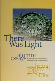 Cover of: There was light