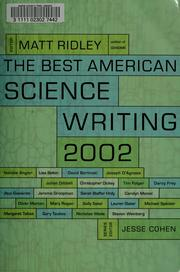 Cover of: The Best American science writing 2002