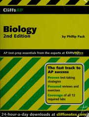 Cover of: CliffsAP biology