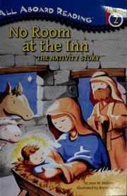 Cover of: No room at the inn: the Nativity story