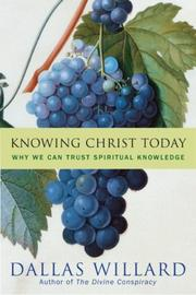 Cover of: Knowing Christ today