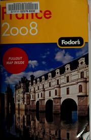 Cover of: Fodor's 08 France