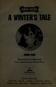 Cover of: A winter's tale