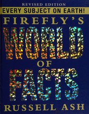 Cover of: Firefly's World of Facts