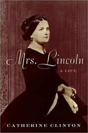 Cover of: Mrs. Lincoln: a life