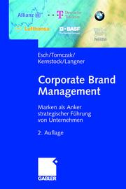 Cover of: Corporate Brand Management