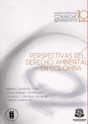 Cover of: Perspectivas del derecho ambiental en Colombia