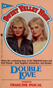 Cover of: Double love