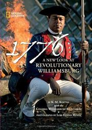 Cover of: 1776: a new look at revolutionary Williamsburg