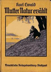 Cover of: Mutter Natur erzählt