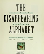 Cover of: The disappearing alphabet