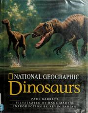 Cover of: National Geographic dinosaurs