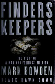 Cover of: Finders Keepers: the story of a man who found $1 million