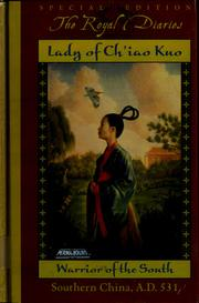 Cover of: Lady of Ch'iao Kuo: warrior of the south