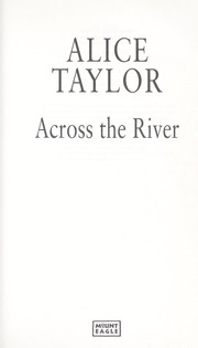 Cover of: Across the river