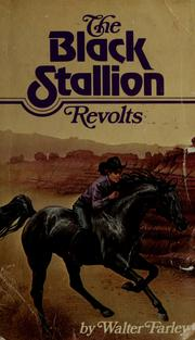 Cover of: The black stallion revolts