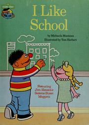 Cover of: I like school