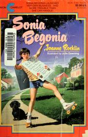 Cover of: Sonia Begonia