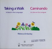Cover of: Taking a walk: a book in two languages = Caminando : un libro en dos lenguas