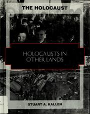 Cover of: Holocausts in other lands