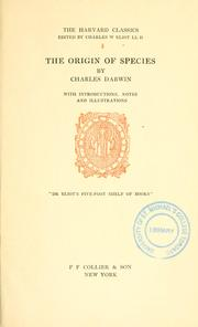 Cover of: On the origin of species by means of natural selection