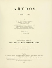 Cover of: Abydos