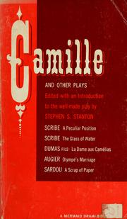 Cover of: Camille and other plays