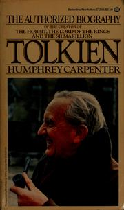 Cover of: Tolkien