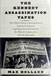 Cover of: The Kennedy assassination tapes