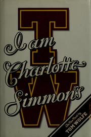 Cover of: I am Charlotte Simmons