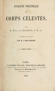 Cover of: Analyse spectrale des corps célestes