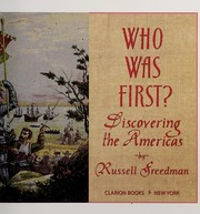 Cover of: Who was first?: discovering the Americas