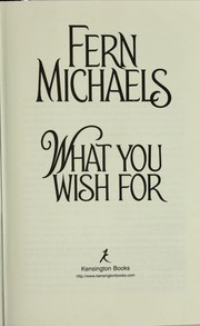 Cover of: What You Wish For