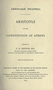 Cover of: Athnain politeia